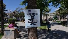 Erzincan Belediyesinden ücretsiz wi-fi hizmeti
