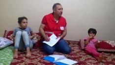 Kızılaydan Silopide Ramazan yardımı