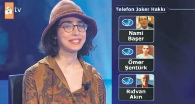 'Milyoner'in kadrolu telefon jokeri: Prof. Dr. Nami Başer