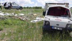 Aksarayda iki kamyonet çarpıştı: 7 yaralı