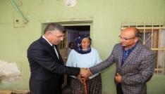 Niğde Belediyesi, Hanife Teyzeyi barakadan kurtardı