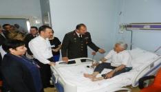 Jandarmadan hastalara 178nci yıl ziyareti