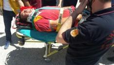 İnşaatta iskele çöktü, 3 kişi yaralandı
