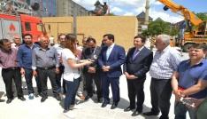 Belediye Başkanı Bahçeci, Atatürk heykelinin taşınmasını farklı noktaya çekmeye çalışanlarda beyhude çaba içindeler