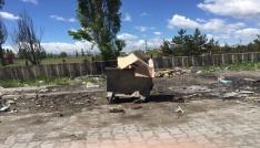 Küçük Sanayi Sitesinde çöp sorunu