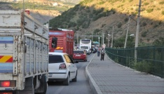 Tunceli-Erzincan karayolu yeniden ulaşıma kapatıldı