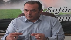 """Şoförler Odası Başkanı Mehmet Tekin: """"Belediye Başkanının yanındayız ama ortak olmayız"""""""