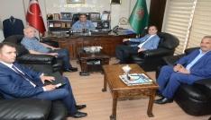 Defterdar Arslandan Başkan Koçaka ziyaret