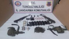 Tuncelide 2 terörist ölü ele geçirildi