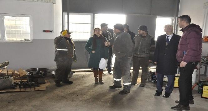 Iğdır Belediyesinde iş güvenliği eğitimi