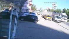 Karamanda çekici otomobile çarptı: 1 yaralı