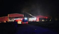 Afyonkarahisarda fabrika yangını