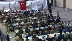 Yedisuda asker ile halk birlikte iftar yaptı