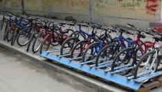 Karsta kiralık bisiklet dönemi başladı