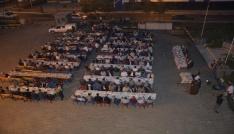 Kato Dağı eteklerinde 2 bin kişilik iftar yemeği