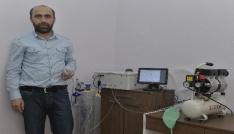 KMÜde solunum cihazı geliştirildi