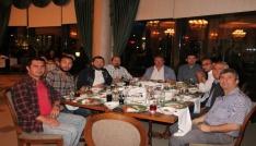TSYDden spor muhabirlerine iftar yemeği