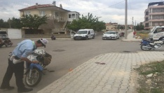 Karamanda motosikletler çarpıştı: 1 ölü, 1 yaralı