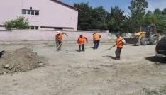 Tutak Belediyesinden bayram temizliği