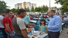 Dargeçitte bin kişilik iftar programı