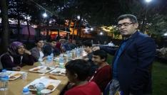 Kaymakam Çetinden başarılı öğrencilere iftar yemeği
