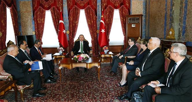 Erdoğan, Küba Dışişleri Bakanı ile görüştü