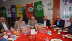 HDPden Tatvanda iftar yemeği