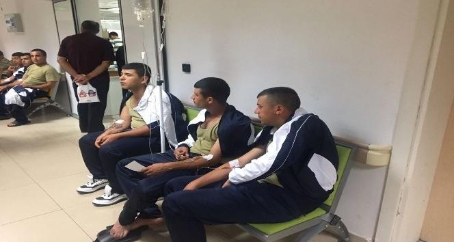 Hastaneye kaldırılan askerler taburcu edilmeye başlandı