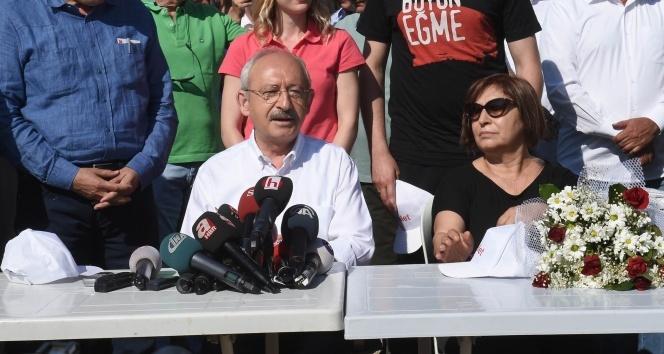 Kılıçdaroğlu, 'Adalet Yürüyü'şünün 3'üncü gününde
