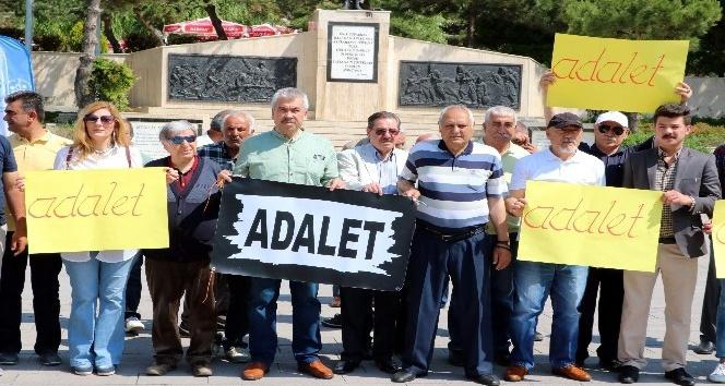 CHP Yozgat İl Teşkilatı Adalet Yürüyüşü için Ankaraya gitti