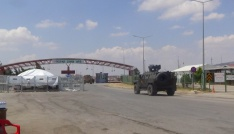 Sınırda zırhlı araç yoğunluğu