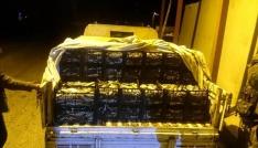 Ahlatta 1,5 ton kaçak avlanmış balık ele geçirildi