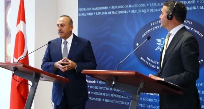 Çavuşoğlu: 'Makedonya NATO üyeliğini en çok hak eden ülkedir'