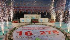 Kahramanmaraşta 278 milyonluk 16 tesisin temeli atıldı