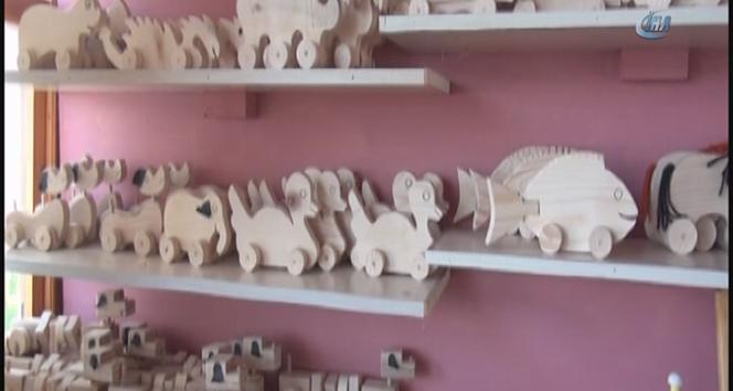 İlçenin hedefi ahşap oyuncak üretim merkezi olmak