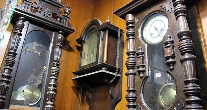 1 asırlık antika saatler