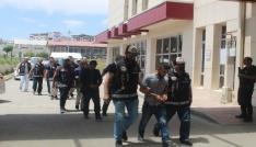 Muşta suç örgütü operasyonu: 15 gözaltı