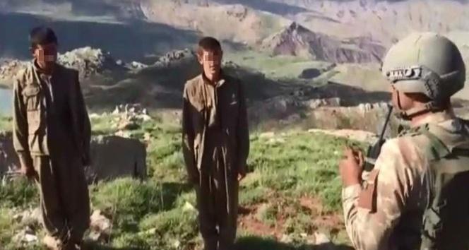 """Pervari'de teslim olan terörist: """"Zorla dağa götürüldüm"""""""
