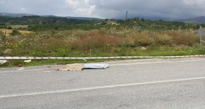 Kontrolden çıkan traktör şarampole yuvarlandı: 1 ölü