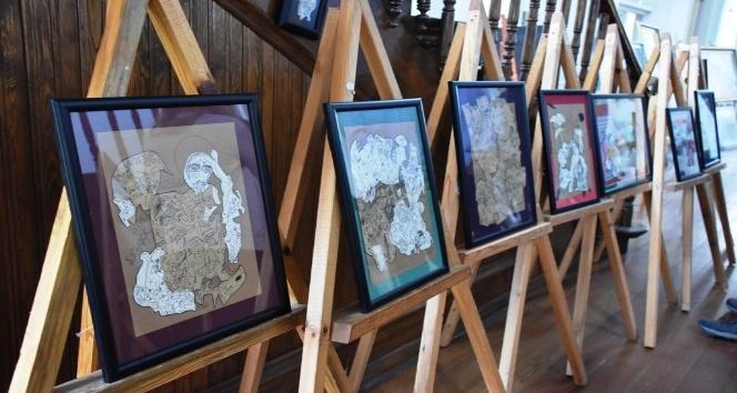Süleymanpaşa Belediye Binası Karma Resim Sergisine ev sahipliği yaptı