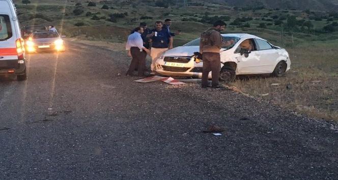 Bingölde kaza: 2 yaralı