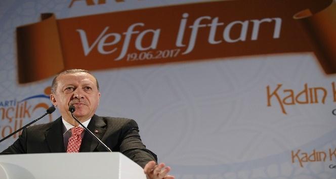 """Cumhurbaşkanı Erdoğan: """"İstismar ile adalet aranmaz"""""""