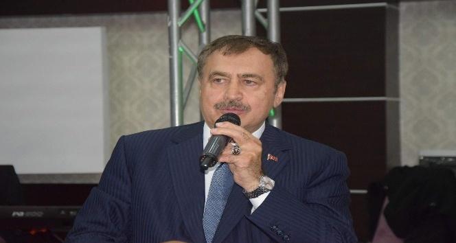 """Bakan Eroğlu: """"Hakikaten bu büyük millet ile uğraşan çok düşman var"""""""