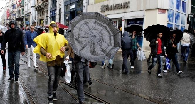İstanbulda sağanak yağış - 19 Haziran 2017