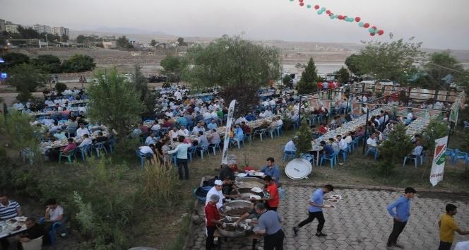 Cizre Spor Kulübünden iftar