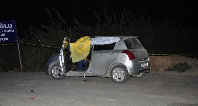 İnşaat ustası, karısının otomobilinde av tüfeğiyle intihar etti