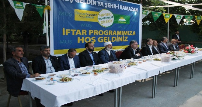 HÜDA-PAR'dan Muş'ta iftar
