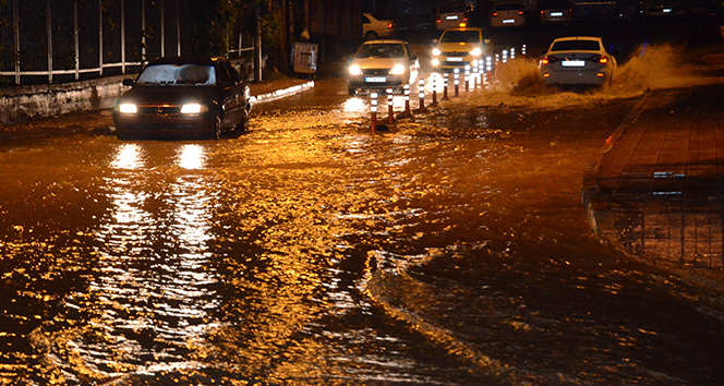 Zonguldak sular altında kaldı