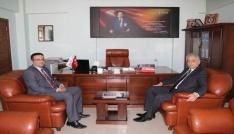 Vali Topraktan kamu kurumlarına ziyaret