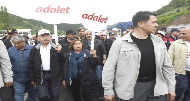 CHP'nin 'Adalet Yürüyüşü'nün 6. günü başladı